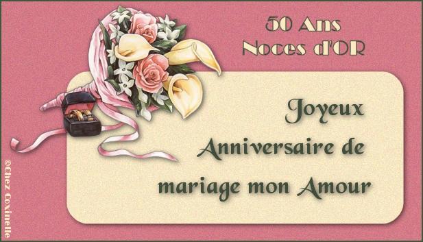 L 39 anniversaire for 50e anniversaire de mariage